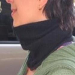 Fleese neck warmer