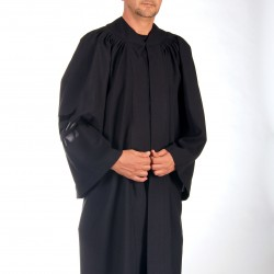 Graduation gown american style