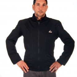 """Optimal"" summer black horseback  jacket containing Aramid"