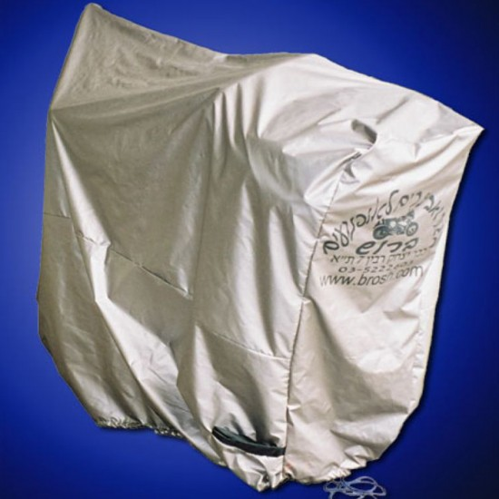 UV Motorcycle Cover Silver