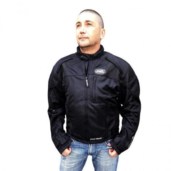 "Mesh  motorcycle   jacket ""Cool Mesh""  containing Aramid black"