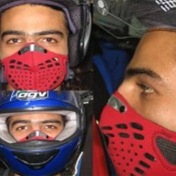 Anti-pollution mask for urban riding -STREET