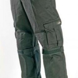 Motorcycle cargo riding pants olive grey