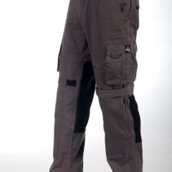 Motorcycle cargo riding pants Grey