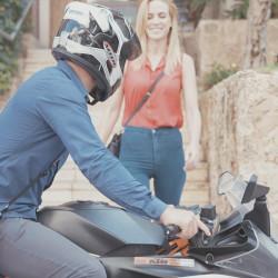 Helmet carrying strap