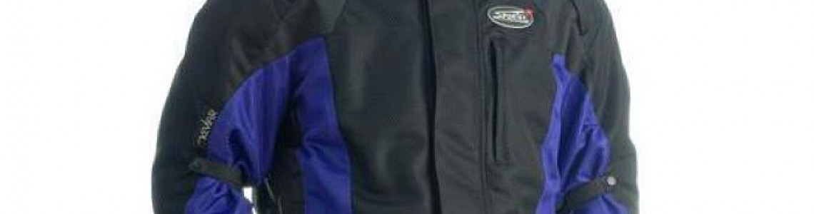 """""""Power Cool""""  - all year motorcycle jacket"""