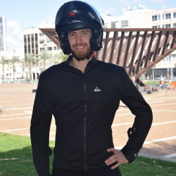 """Optimal 2 big sizes ""  summermotorcycle  jacket  black  with Dry Fit + Aramid  sizes 4xl-8xl"