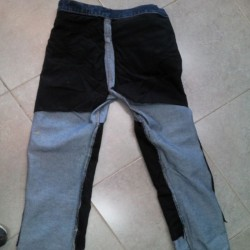 Motorcycle riding  Jeans reinforced with Aramid blue